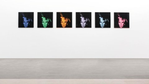 Andy Warhol, Six Self Portraits – Sotheby's New York