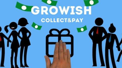 """Con Growish la """"colletta"""" per il regalo è online"""