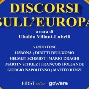 EBOOK FIRSTONLINE-GOWARE – Discorsi sull'Europa, da Altieri Spinelli alla crisi di oggi