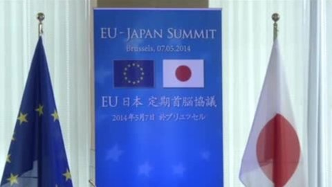 UE-Giappone: il surplus 2013 parla italiano