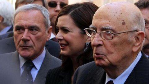 """Napolitano: """"Berlusconi si dimise liberamente"""""""