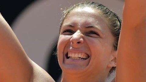 Tennis, Internazionali di Roma: exploit Errani, oggi la doppia finale