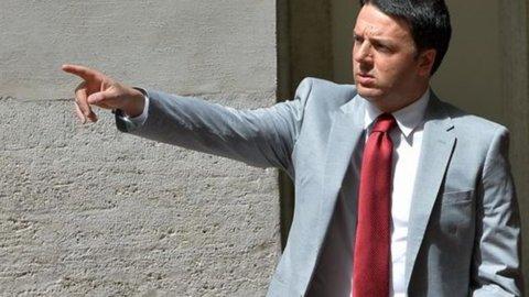 """Renzi: """"Se bloccano le riforme me ne vado"""""""