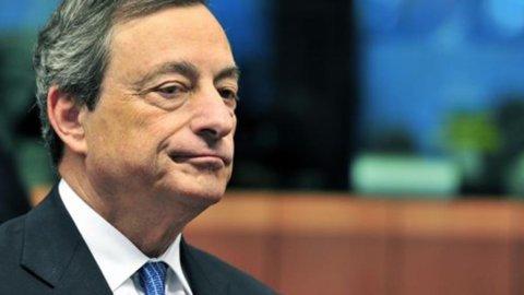 """Bce, Draghi conferma: """"Combatteremo bassa inflazione e credito difficile"""""""