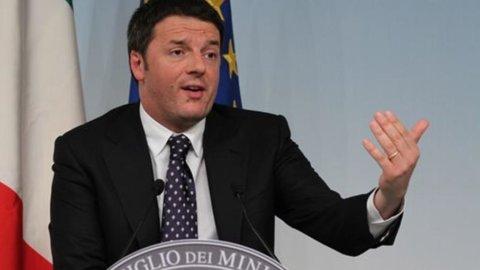 """Renzi: """"Ora le riforme, Italia sarà leader in Europa"""""""