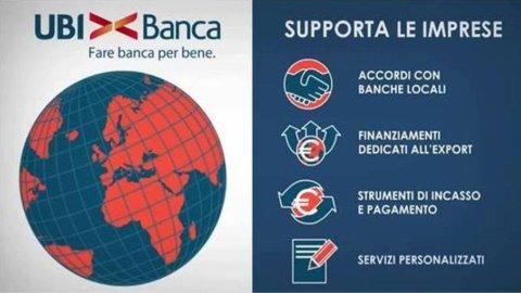 Ubi Banca e ICE: accordo per internazionalizzazione delle Imprese