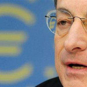 """Draghi: """"Non abbiamo ancora finito"""""""
