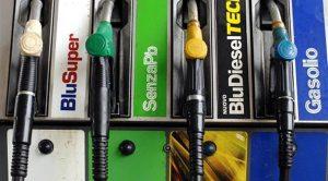 benzina e diesel distributore
