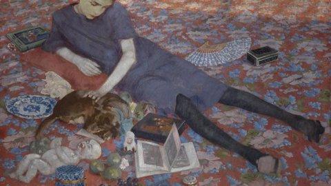 Jacqueline Humphries al Dan Flavin Art Instituite di New York