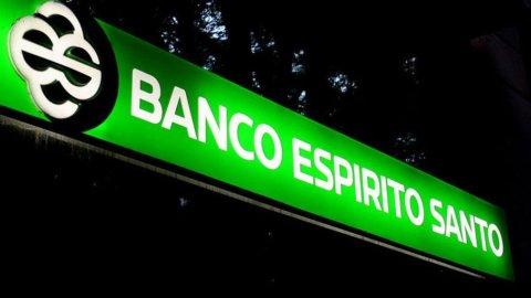 Borsa Lisbona, crolla ancora Espirito Santo
