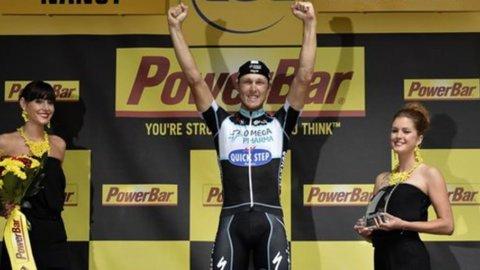 Tour: grande assolo di Toni Martin, Nibali lascia la maglia a Gallopin