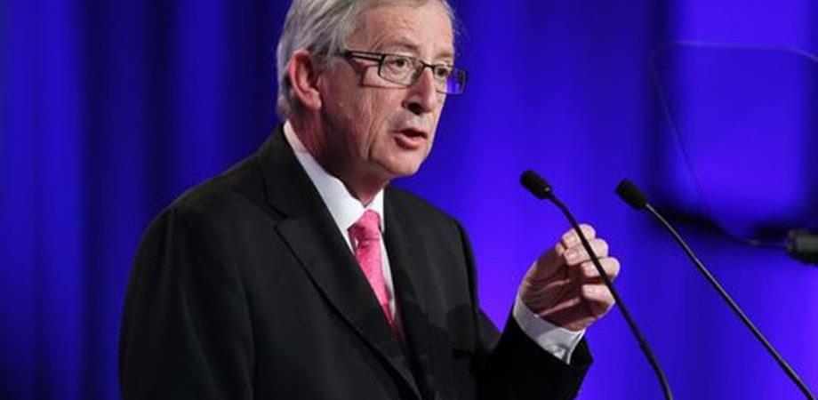 """Ue, Juncker: """"Serve un piano da 300 mliardi in 3 anni per la crescita"""""""
