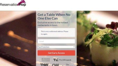 """Usa, ecco ReservationHop: con 12 dollari """"compri"""" una prenotazione al ristorante"""