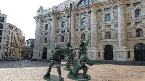 Mps e Finmeccanica sostengono la Borsa