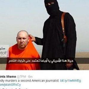 Orrore in Iraq:  secondo ostaggio Usa decapitato dall'Isis