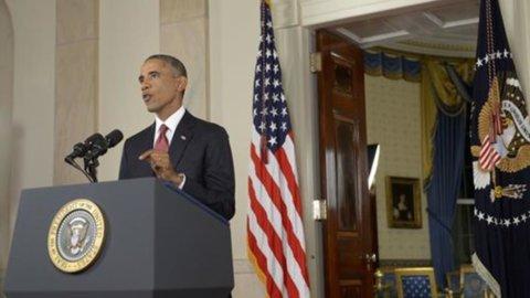 """Usa, Obama: """"Contro l'Isis raid anche in Siria"""""""