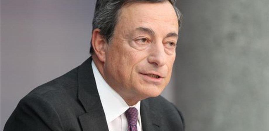 """Draghi: """"Rischio deflazione non è escluso, ma limitato"""""""