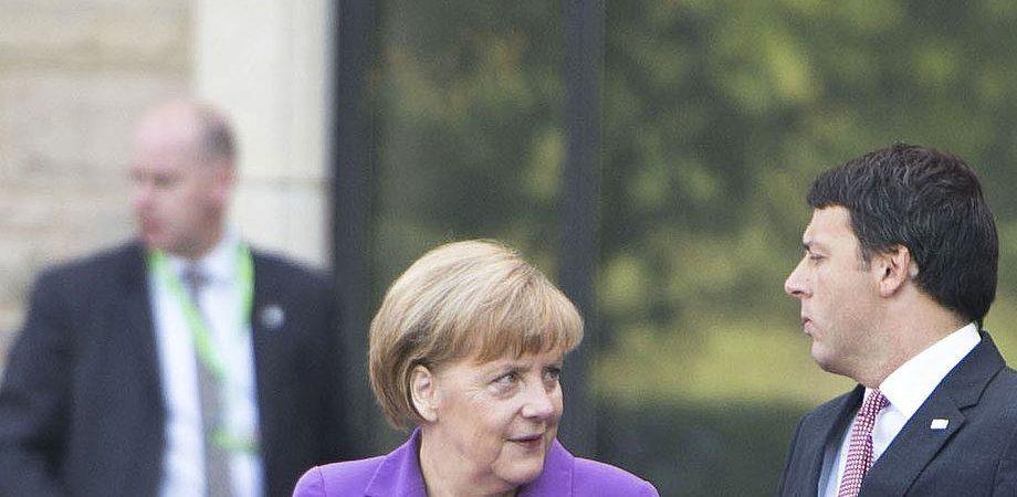 Renzi stupisca l'Europa per battere la Merkel