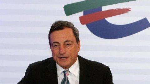 La Bce conferma i tassi, tutti gli occhi su Draghi