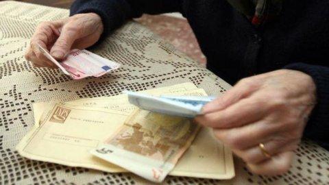 Pensioni, scattano i rimborsi a partire da 295 euro