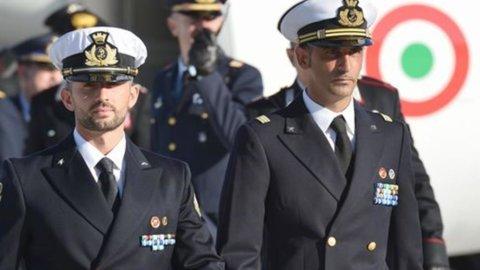 Marò: Girone in Italia durante l'arbitrato