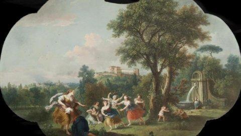 Palazzo Borromeo: la pittura di veduta nei domini Borromeo, da Gaspar Van Wittel a Luigi Ashton.