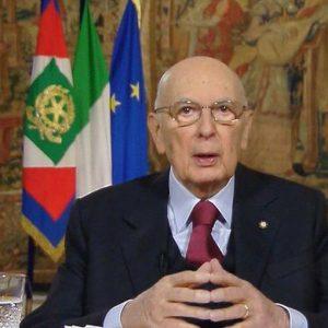 L'addio di Napolitano agli italiani: avanti con fiducia