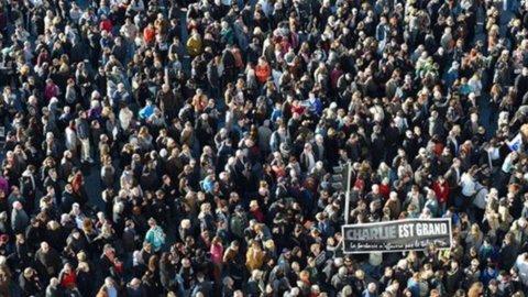 Francia, due milioni in marcia contro il terrorismo