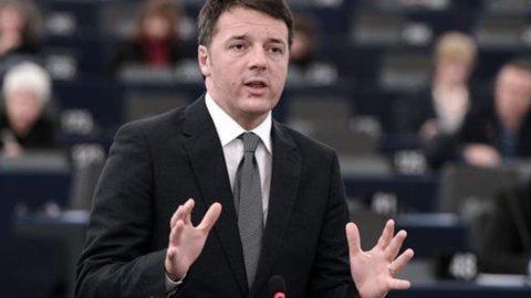 """Renzi: """"Italia cambi ora, carpe diem. E la Bce dia un segnale"""""""