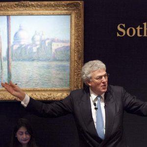 """Londra, Sotheby's: venduto a 31 milioni di euro il dipinto """"Le Grand Canal"""" di Claude Monet"""