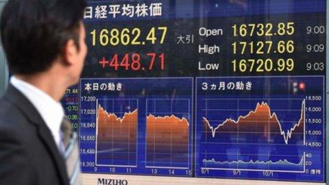 Borse: l'Asia rimbalza, l'Europa tenta la riscossa