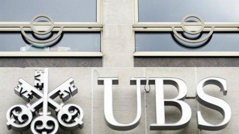 Ubs, l'utile sale del 14,3%, bene i ricavi