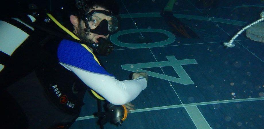 Y 40 la piscina pi profonda del mondo in provincia di for Piscina y 40 padova