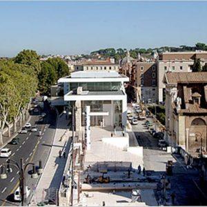 Roma/Museo Ara Pacis, dall'architettura del secondo dopoguerra sino ad oggi