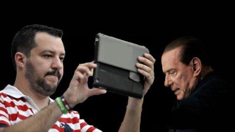 DESTRA ALLA DERIVA – Salvini e Berlusconi sempre più divisi e sempre più lontani