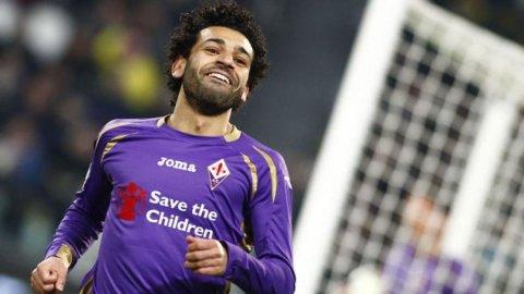 SEMIFINALI COPPA ITALIA – La Fiorentina espugna lo Juventus Stadium (1-2) con due gol di Salah