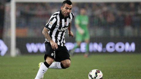 CAMPIONATO SERIE A – La Juventus non molla mai: un gioiello di Tevez batte il Genoa