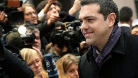 """Grecia-Ue, Tsipras: """"In arrivo nuova lista di riforme"""""""