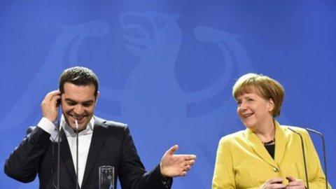 Merkel e Tsipras verso la tregua