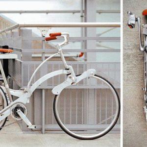 Una bici piccola come un ombrello: l'ultima invenzione Made in Italy