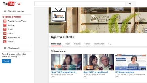 730 precompilato: i video tutorial del Fisco su YouTube