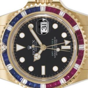 Christie's/Geneve: Ten GMT Rolex wristwatches