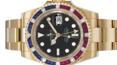 Christie's/Geneve: Ten GMT Rolex wristwatches