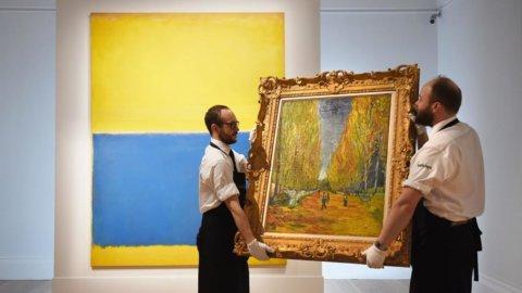 New York, Sotheby's mette all'asta due opere milionarie di Rothko e van Gogh