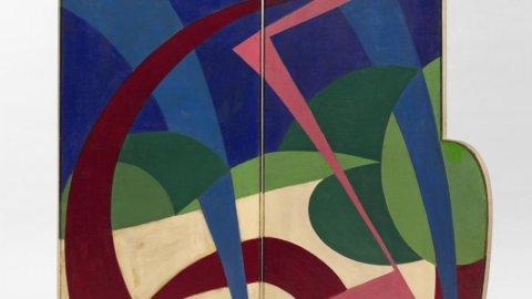 Sotheby's/New York: paravento di Giacomo Balla stimato 600-800.000 dollari all'asta