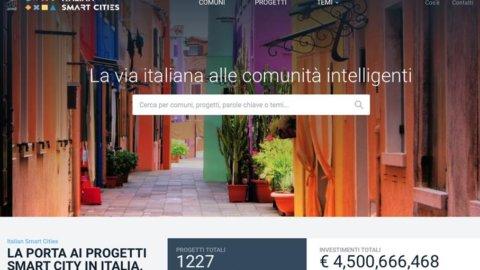 Italian Smart Cities: online il sito con 1227 progetti innovativi utile per Comuni e cittadini