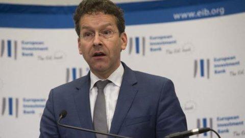 """Dijsselbloem: """"Grecia, ristrutturazione debito non è tabù"""""""