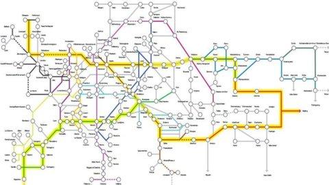 """Torino-Pechino in meno di due giorni di treno: arriva (nel 2040) la nuova """"Via della seta"""""""