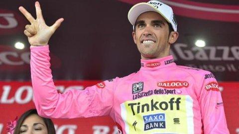 Contador trionfa nel Giro della consacrazione di Aru