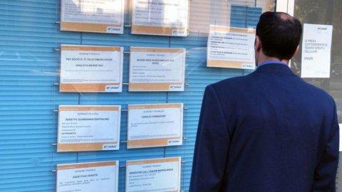 Disoccupazione ancora giù: torna all'agosto 2012
